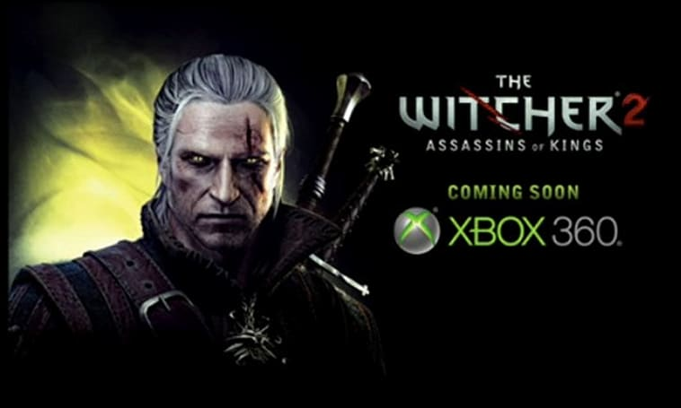 The Witcher 2 casting spells on Xbox 360 by the end of 2011
