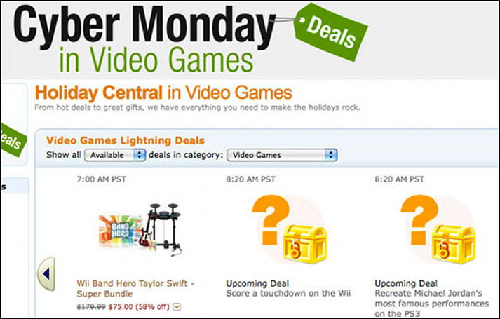 Amazon readies storm of Cyber Monday deals