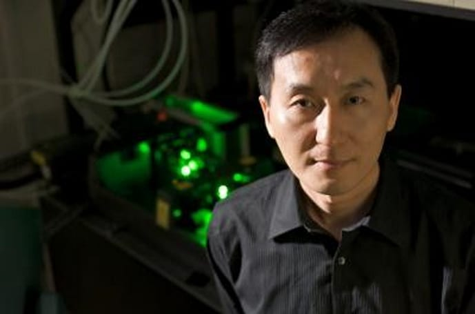 Ultra-powerful laser could make incandescent light bulbs more efficient