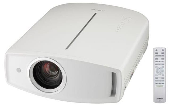 JVC reveals limited edition white DLA-HD750 1080p projector