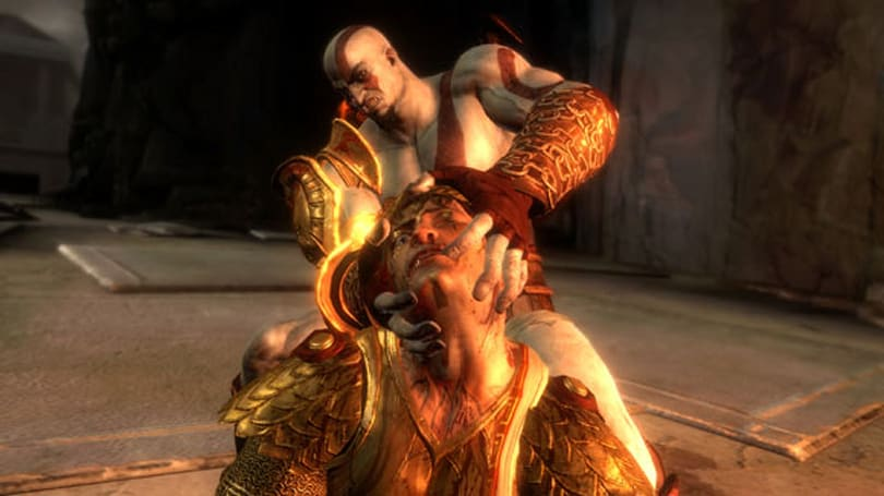 God of War III pitched as FPS; struck down