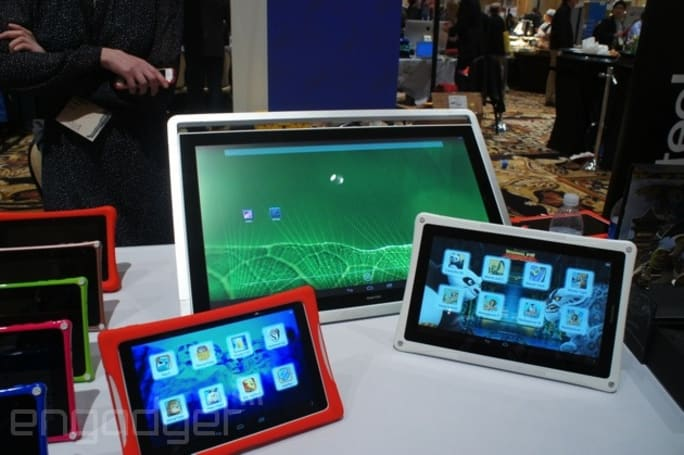 Fuhu's DreamTab line pops up at CES sporting Kung Fu Panda and other DreamWorks fare