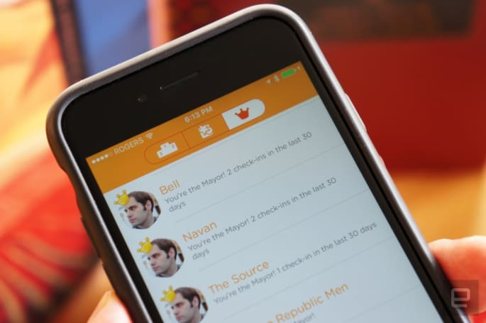 Swarm brings back Foursquare's real-world perks