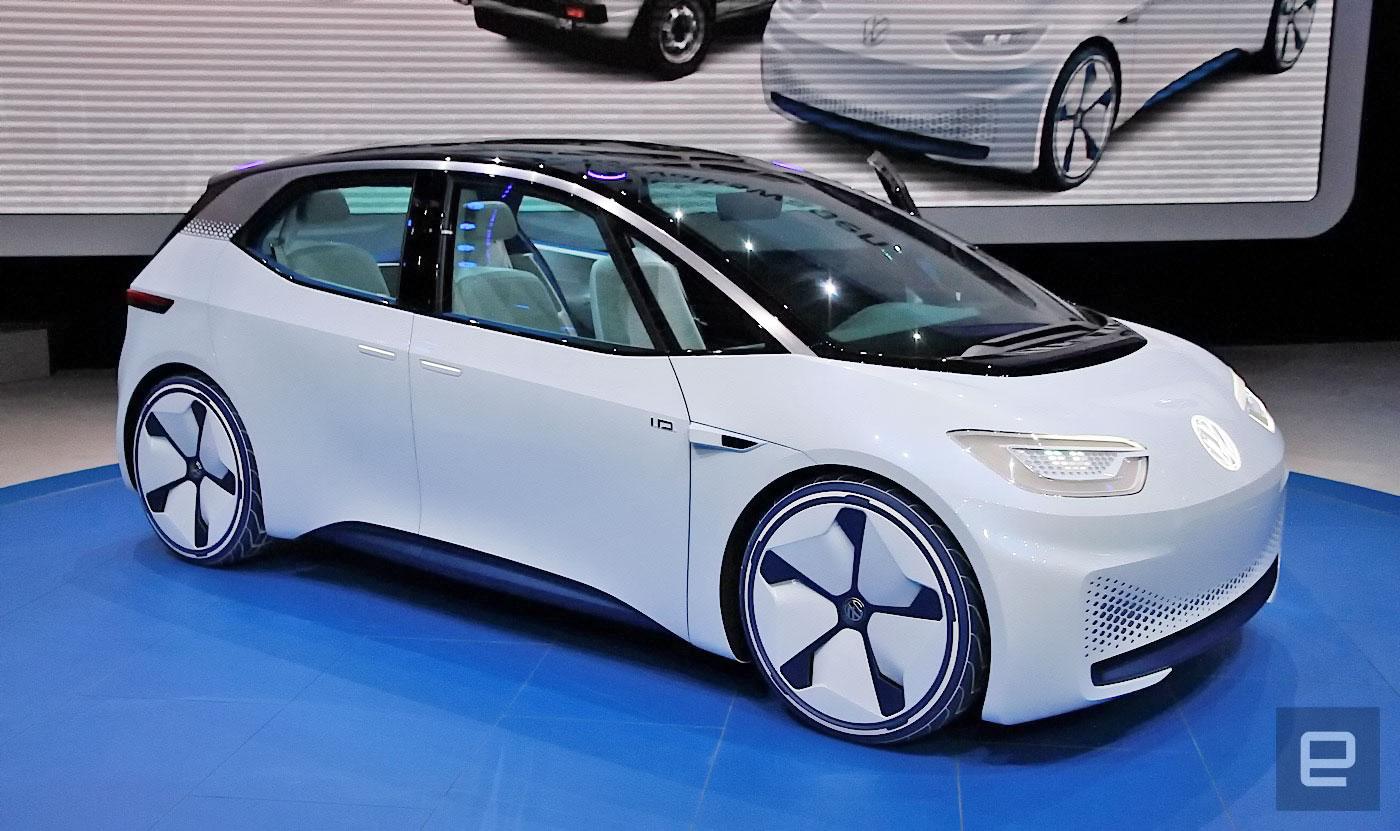 volkswagen 39 s i d arrives in 2020 with up to 370 mile range. Black Bedroom Furniture Sets. Home Design Ideas