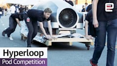 Watch three teams compete for the best Hyperloop pod design
