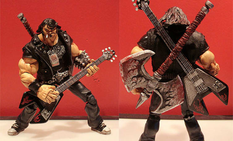 Fan-made Eddie Riggs figure hits all the right notes
