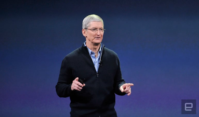 Tim Cook: 'Apple could unlock iPhones, but won't'