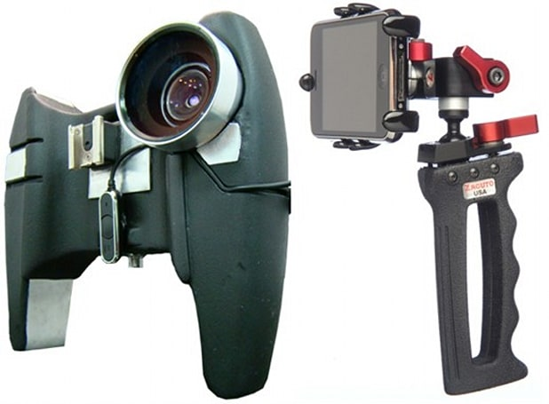 Apple's iPhone 3GS gets two more handheld video mounts