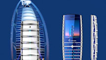 The SBMP-N90 phone isn't quite as cool as the Burj Al Arab it apes