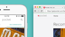 Pocket invites you to try beta features, starting with recommendations