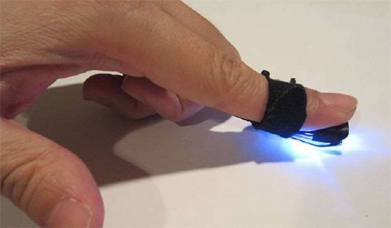 Autodesk researchers develop 'magic finger' that reads gestures from any surface (video)