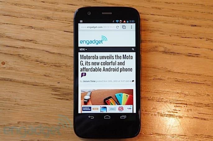 Moto G makes its North American debut at Telus and Koodo
