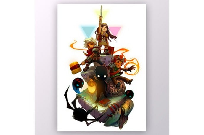 A Humble Indie Bundle print you can proudly own