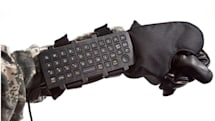 iKey's AK-39 wearable keyboard is about as weapon-like as it sounds