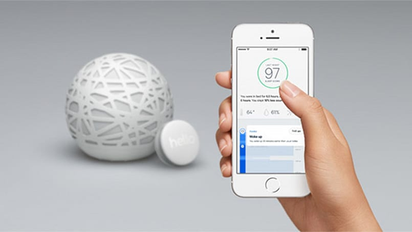 Sense sleep sensor monitors your zzz's and wakes you up at the best time