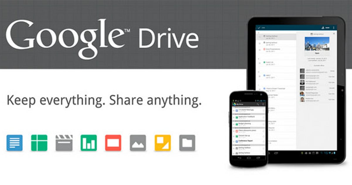 Google Drive official: 5GB of free storage, Chrome web apps, Wave-like ...