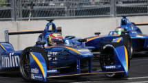 BMW partners with a Formula E racing team
