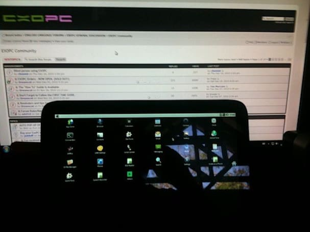 ExoPC hacked to run Android 2.2, Microsoft sobs