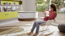 New smart crib aims to relieve frazzled, sleep-deprived parents
