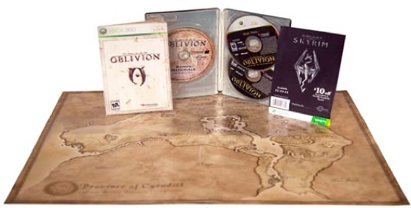 Oblivion 5th Anniversary Edition spotted, available in June