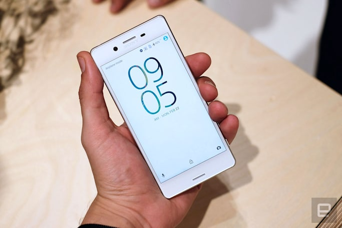 Sony focuses on the camera with its Xperia X lineup