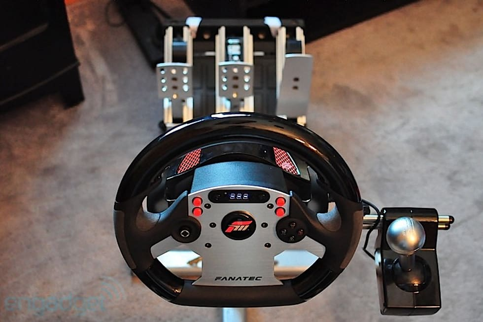 fanatec forza motorsport csr wheel and elite pedals review. Black Bedroom Furniture Sets. Home Design Ideas