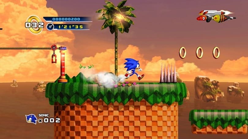 Sonic 4 episodes now on Ouya; Sonic CD coming 'soon'