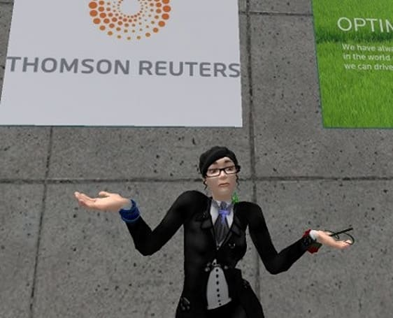 Reuters opening new Second Life island?