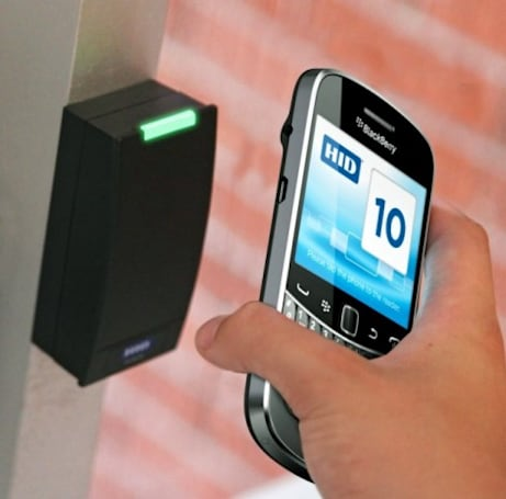Assa Abloy developing NFC-enabled key cards for BlackBerry handsets, locked doors