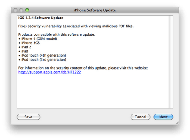 Apple releases iOS 4.3.4, sends you back to jail, does not offer $200