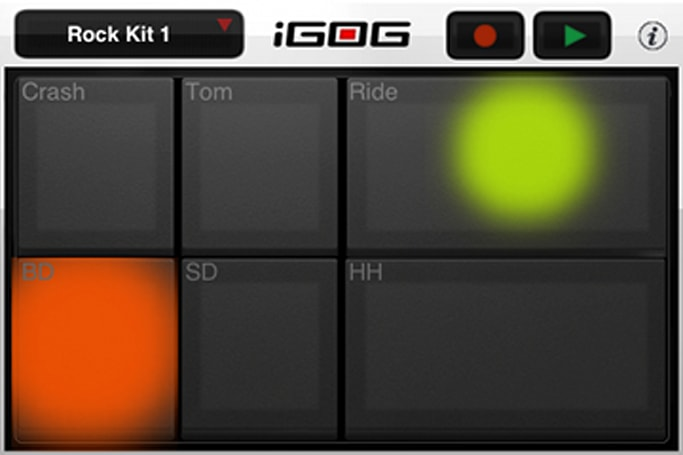 iGOG VelAUcity brings velocity-sensitive drums to your humble iPhone