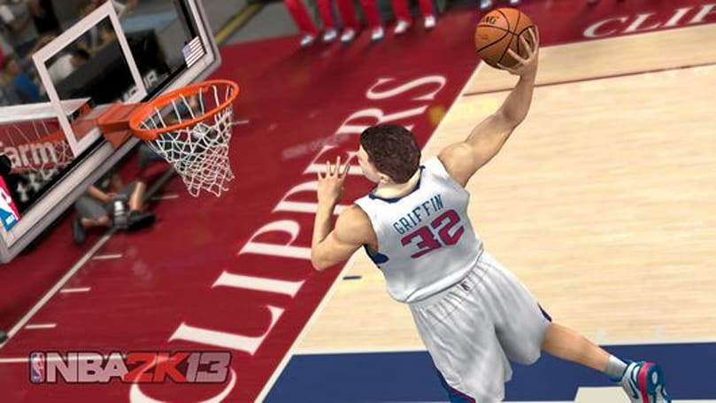 NBA 2K13 is everywhere in this developer video