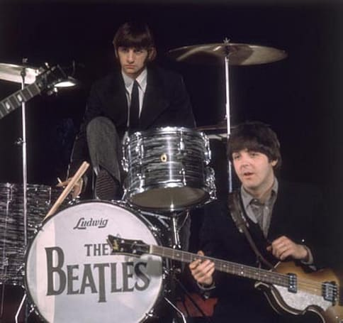 Beatles Rock Band bundle will boast Höfner bass, Ludwig-branded drums