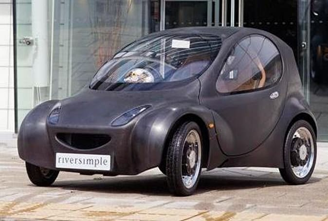 Hydrogen-powered Riversimple Urban Car unveiled, makes your hybrid green with envy