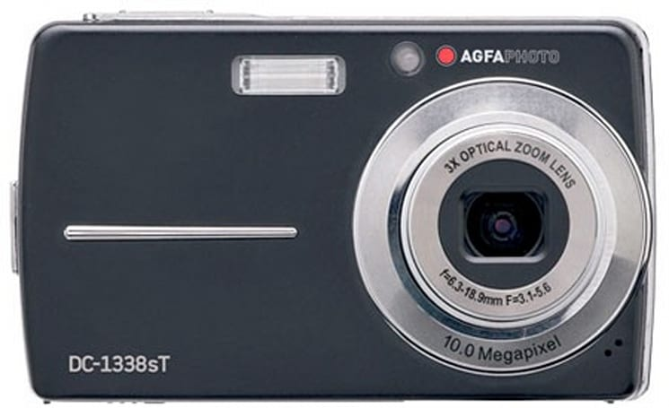 AgfaPhoto DC-1338sT touch screen digital camera