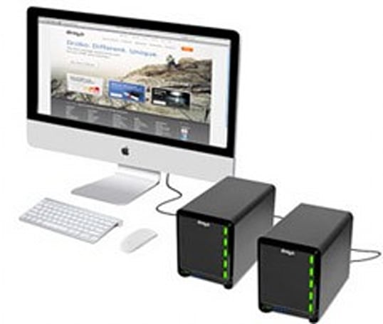 Thunderbolt-equipped Drobo 5D and Drobo Mini storage devices now up for pre-order