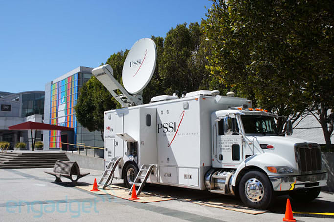 Engadget will be broadcasting live outside of Apple's iPhone event tomorrow!