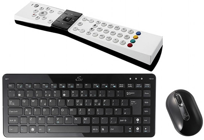 ASUS offers up branded keyboard / mouse combo, remote for Eee Box
