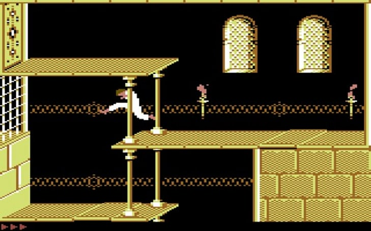 Prince of Persia leaps to Commodore 64