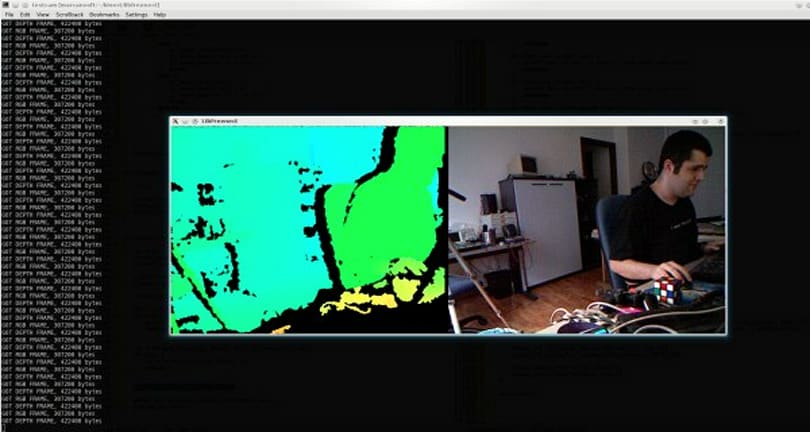 Open source Kinect camera driver now available for download