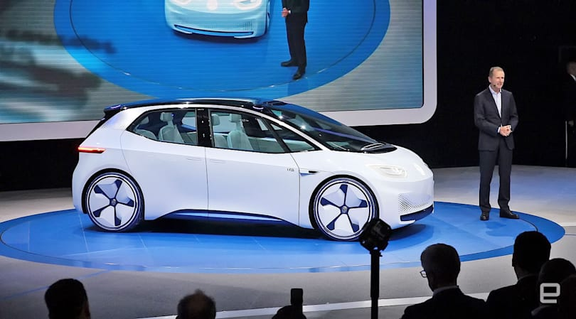 EV concepts merge with reality at the Paris Auto Show