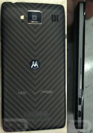 Motorola Droid RAZR HD's backside possibly leaked: we hope you like Kevlar