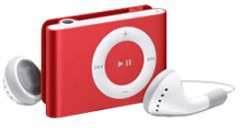(PRODUCT) RED iPod shuffle coming on the 5th?