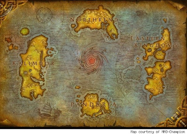 The top ten most desolate spots in WoW