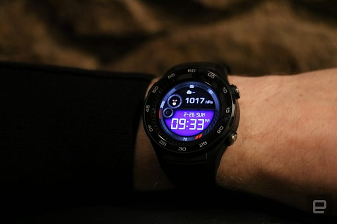 The Huawei Watch 2 is a strong showcase for Android Wear 2