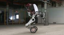 Militärbot Handle: Ein Rollschuh-Känguru auf Speed