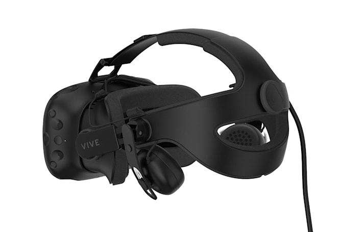 HTC's Vive Deluxe Audio Strap makes its VR headset more comfortable