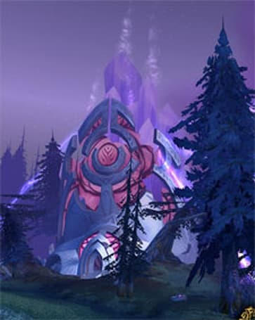 Mysterious Mysteries:  the Exodar