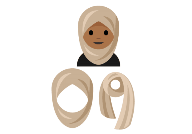 New emoji will include a woman with a headscarf