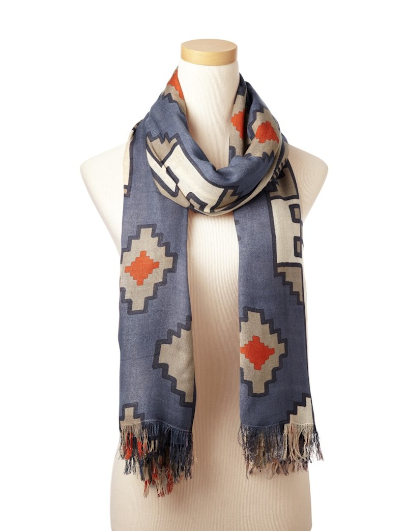 Enter for a chance to win a Theodora & Callum scarf!